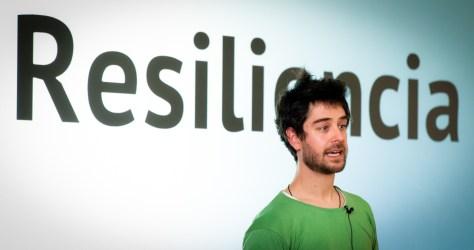 Juan del Rio, author of Guía  del Movimiento de Transicion, has been a leader in the Transition movement in Spain.
