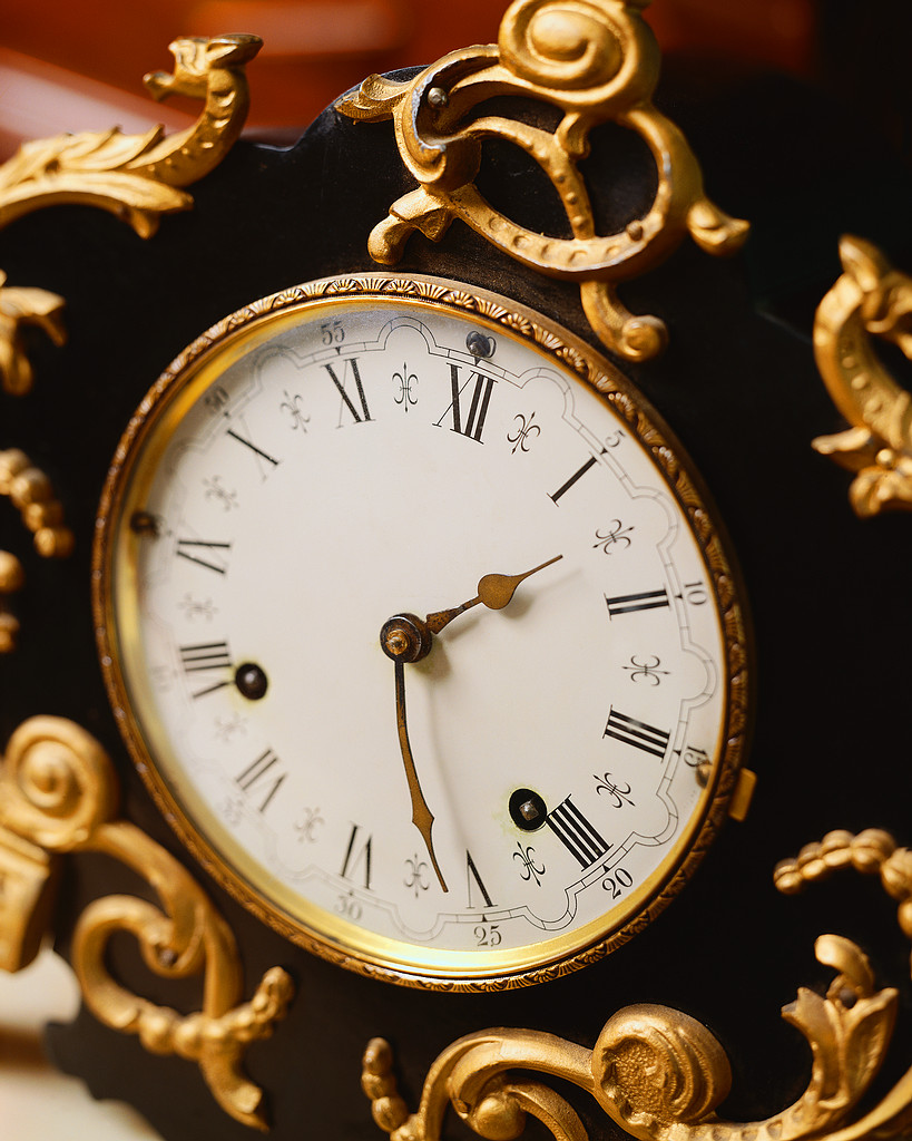 Elegant Clock Face