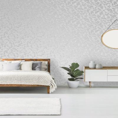 Superfresco Grey Milan Metallic Scroll Wallpaper | Trade Me