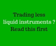 Less liquid instruments