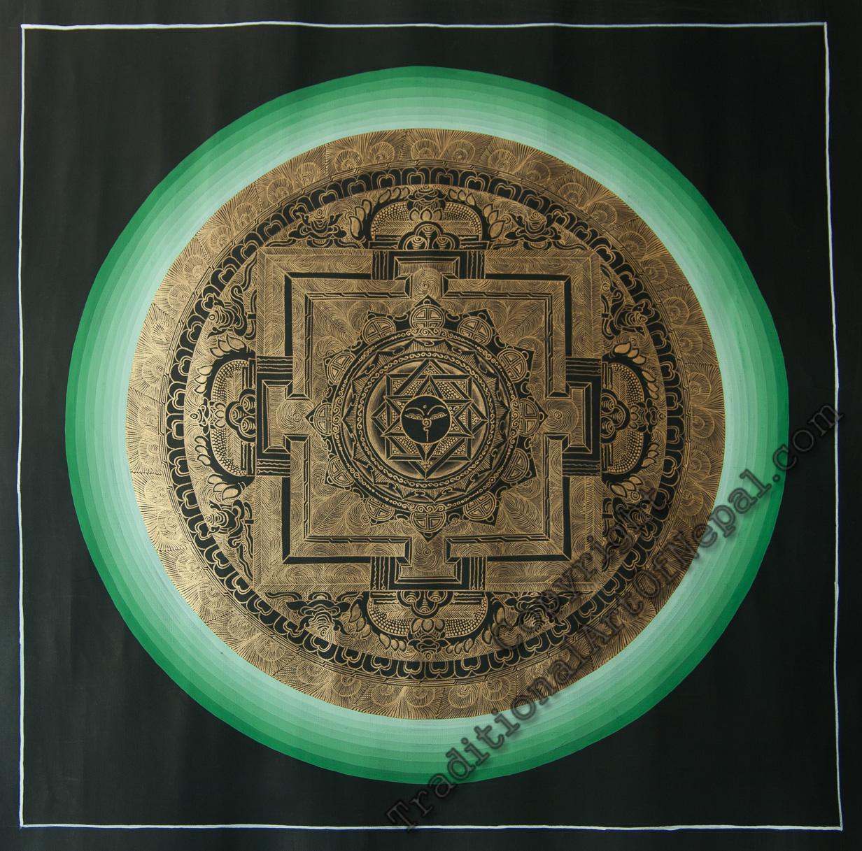 Buddhist Gold Mandala