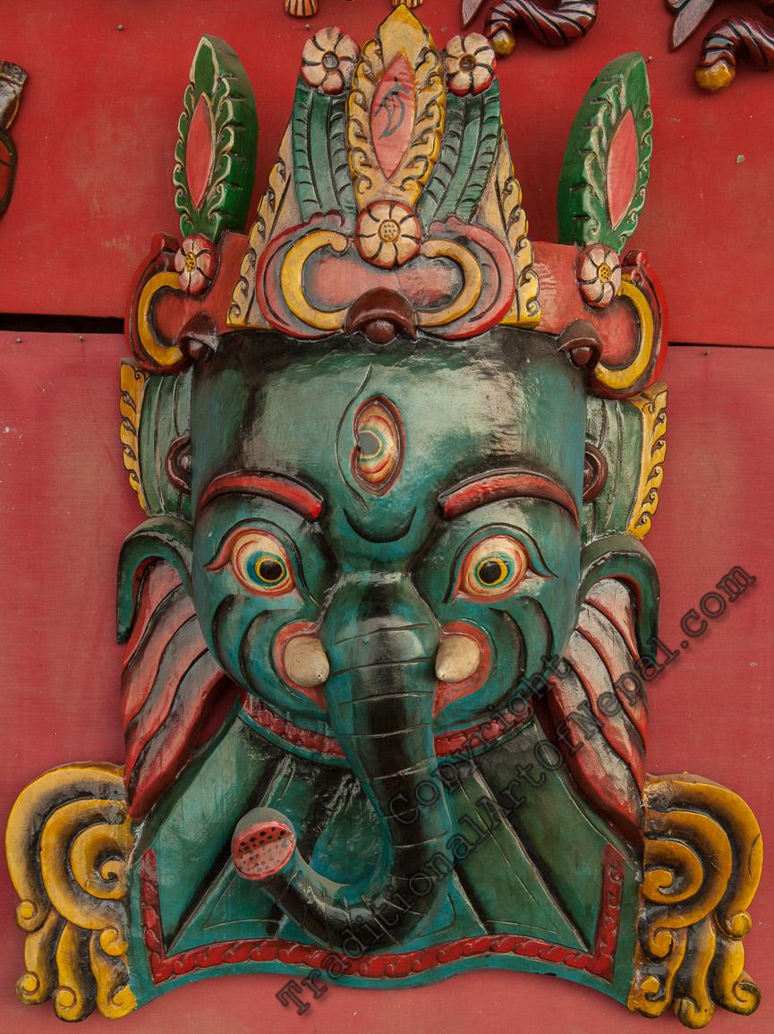 Ethnic Tibetan Mask
