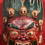 Tibetan Mask of Bhairava
