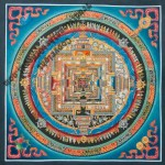 Buddhist Kalachakra painting