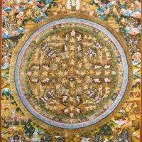 Buddha Vitarka Mudra Thangka