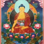 Buddha Tangka painting