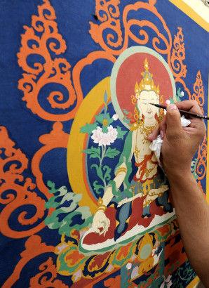 Shoton Festival Lhasa 2013