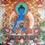 Medicine Buddha Tangka Painting