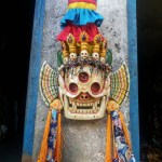 Citipati Mask with decorations