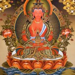 Thangka of Buddha Amitayus