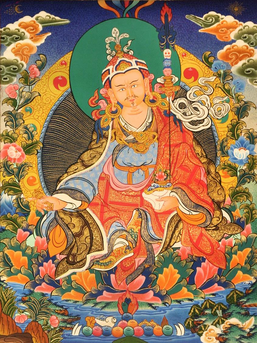 Guru Rinpoche Thanka
