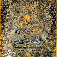 Jambhalas Manifestations Painting