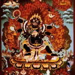 Six Hands Black Mahakala Shadbhuja