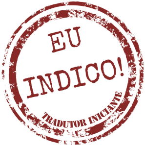Selo EU INDICO - Tradutor Iniciante