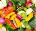 Chopped mixed raw vegetable for Ultra Runners