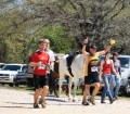 picture of runners finishing the grasslands ultra marathon