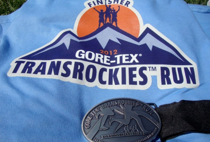 pic of shirt from during the gore-tex transrockies six day run