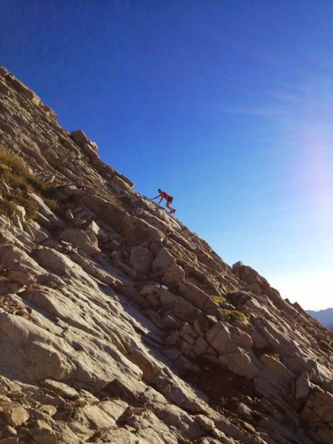 Tackling a few rocks