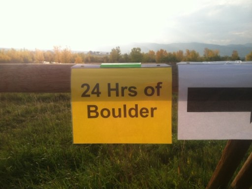 24 Hours of Boulder Trail Running event