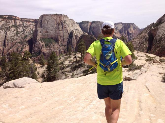 Using Tailwind on the 50 mile Zion Traverse.