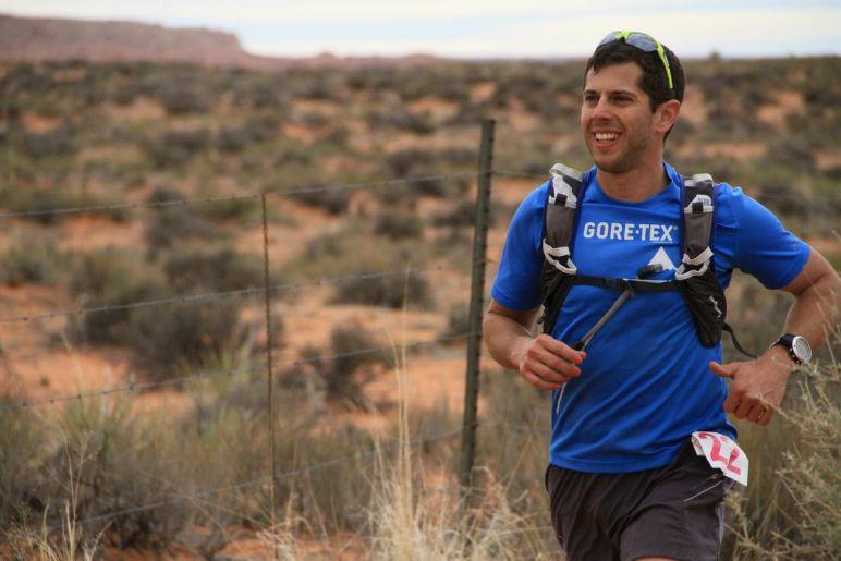 Pete Stoughton running Antelope Canyon