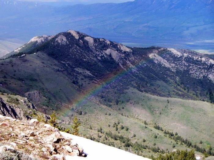 Rainbow on the course
