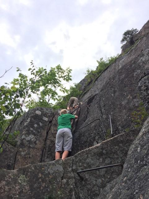 Precipice trail