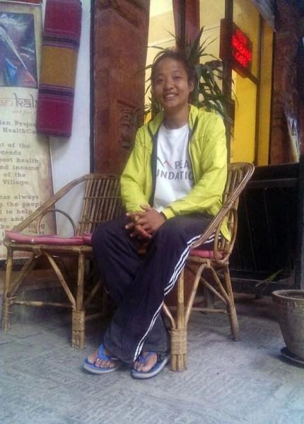 mira-rai trail runner nepal
