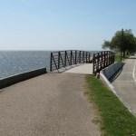 Tammany Trace Trail in Louisiana crosses lake pontchartrain