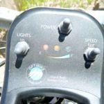 electric bike control panel