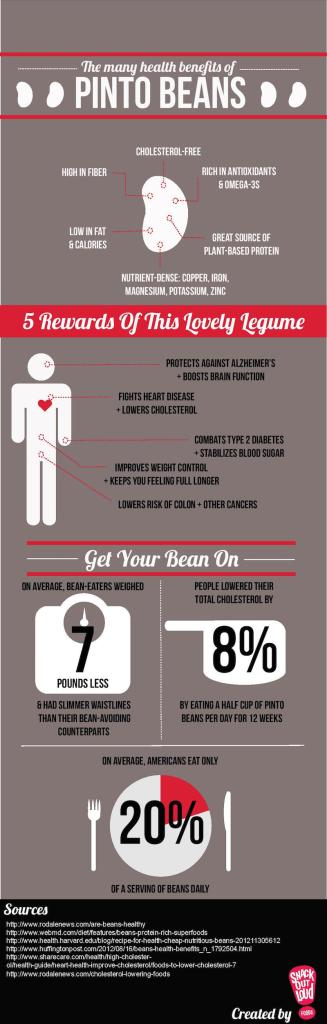nutritional information about pinto beans