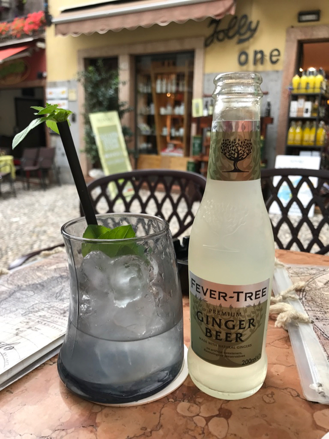Fritz had Moscow Mule withdrawal in Italy until now...