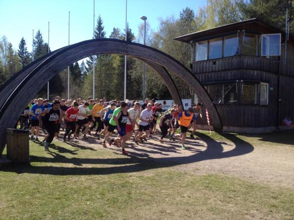 Billingen X-trail 2014 Starten!