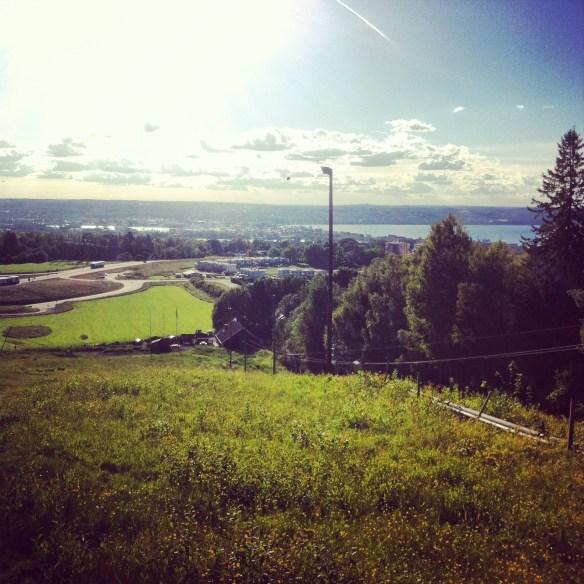 Utsikten från Järabacken