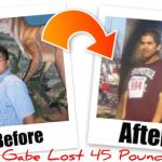 How Gabriel Lost 45 lbs. of Fat…From Obese to Fitness Beast!