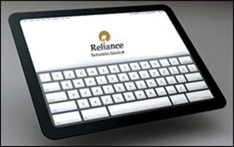 Reliance 4G tablet