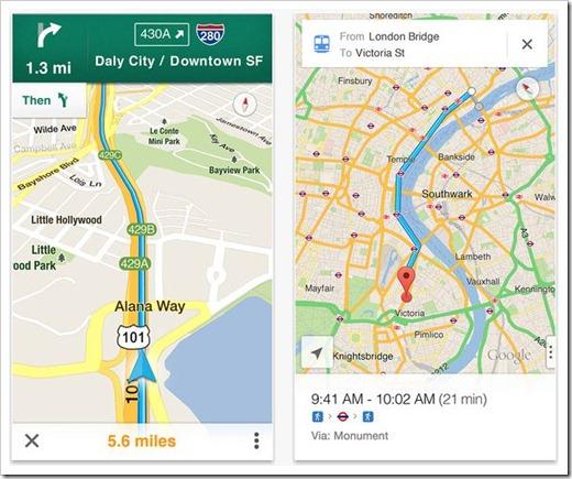 Google iOS Maps