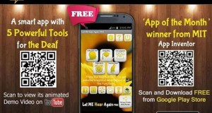 LET ME HEAR AGAIN, An Android App That Helps Deaf To Communicate