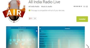 All India Radio Streaming Android App Goes Live [Review]