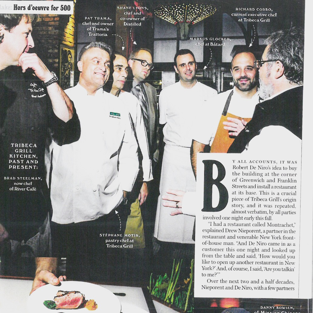 Pat featured in The New York Magazine