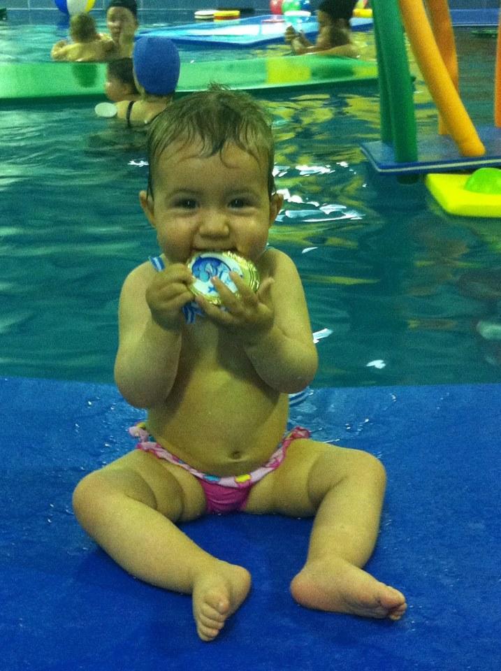 Aprende a nadar desde los 3 años.