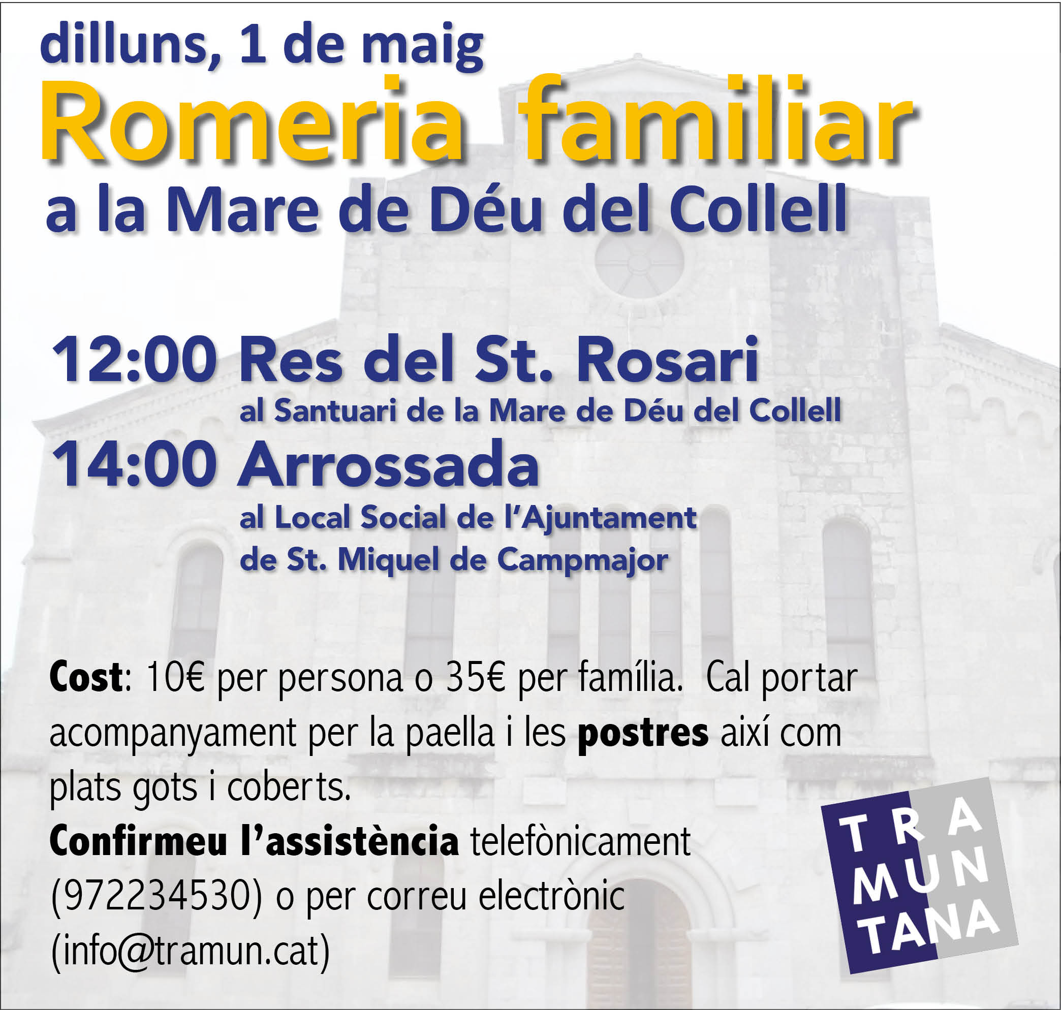 Romeria Familiar al Collell