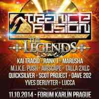 TranceFusion - The Legends (11.10.2014) @ Prague, Czech Republic