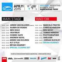 A State Of Trance 700 - WOA138 (11.04.2015) @ Buenos Aires, Argentina