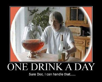 Vad som anses vara en drink eller berusning skiljer sig från person till person
