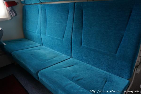 シベリア鉄道ベッド画像