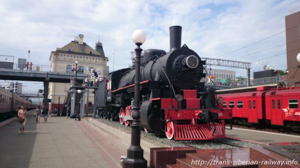 シベリア鉄道蒸気機関車画像