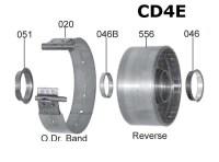 Барабан реверс АКПП CD4E