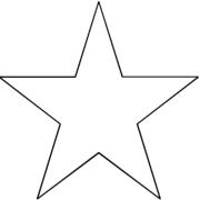 glitter star hair pin accessory headband