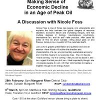 Nicole Foss comes to Guildford!